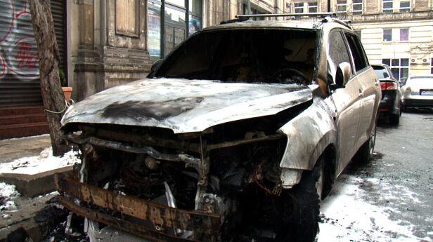 Przy Oleandrów spłonęło 7 aut Dawid Krysztofiński