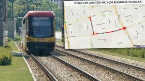 Kasprzaka znów bez tramwajów. Przez dwa lata. Budują metro