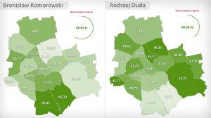 Tak głosowała Warszawa