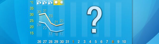 Pogoda na 16 dni: koniec upałów, czyli powrót do wiosennej normy