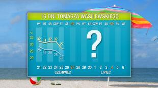 Pogoda na 16 dni: ekstremalnie gorący początek lata