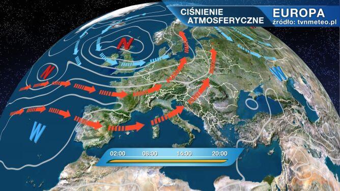 Pogodą w Polsce rządzi niż Lysander